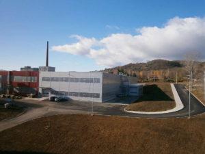 Nová prístavba haly v roku 2017, Hammerbacher SK a.s.